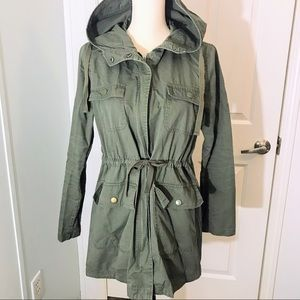 Love Tree military style utility jacket
